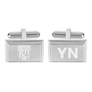 Personalised West Brom FC Crest Cufflinks