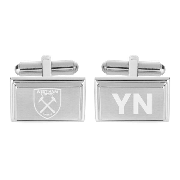 Personalised West Ham United FC Crest Cufflinks