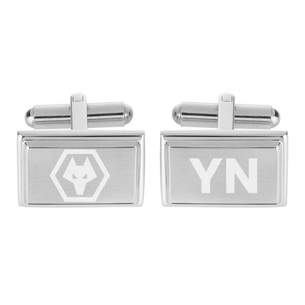 Personalised Wolverhampton Wanderers FC Crest Cufflinks