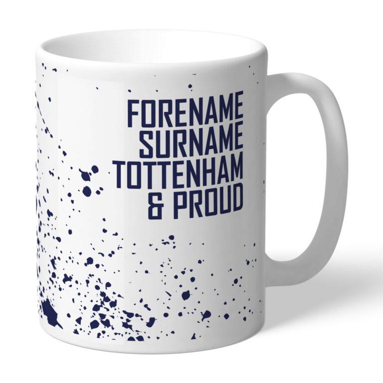 Personalised Tottenham Hotspur FC Proud Mug