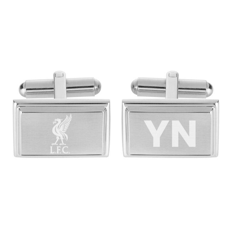 Personalised Liverpool FC Crest Cufflinks