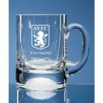 Personalised Aston Villa FC Ball Base Tankard
