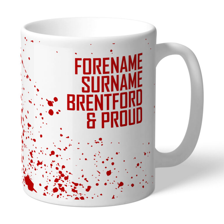 Personalised Brentford FC Proud Mug