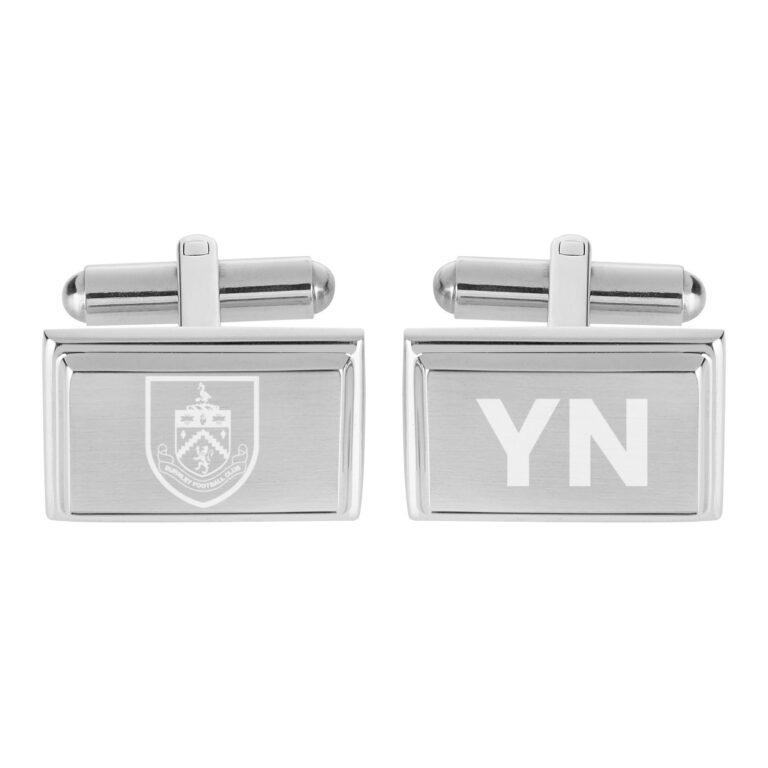 Personalised Burnley FC Crest Cufflinks