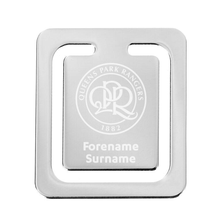 Personalised QPR FC Crest Bookmark