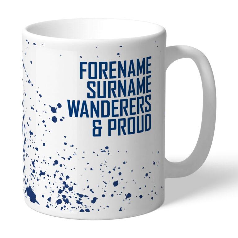 Personalised Bolton Wanderers FC Proud Mug