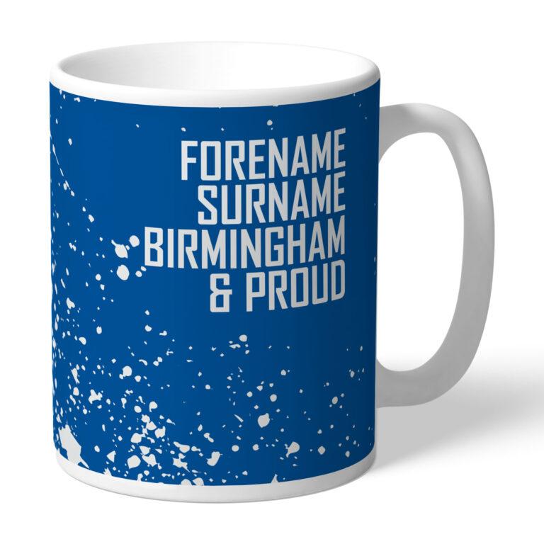 Personalised Birmingham City FC Proud Mug