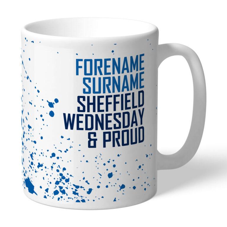 Personalised Sheffield Wednesday FC Proud Mug