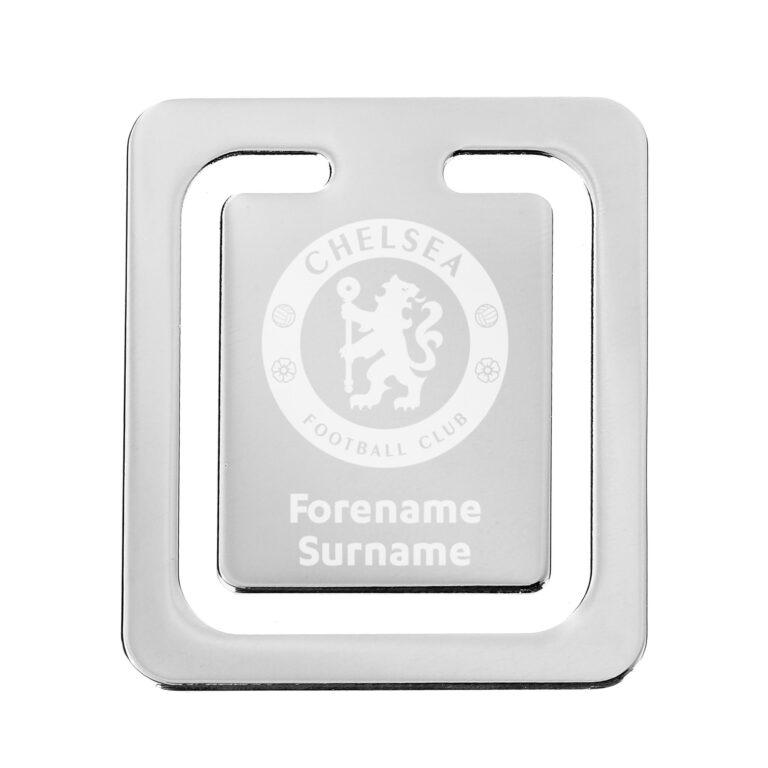 Personalised Chelsea FC Crest Bookmark